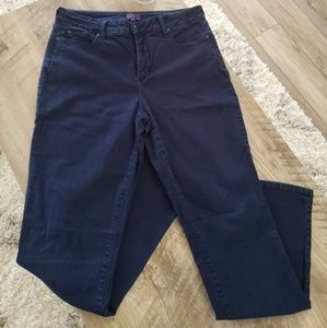 NYDJ Dark Wash Bootcut Stretch Denim Jean Size 14